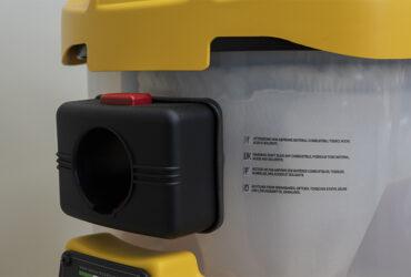 место крепления шланга к парогенератору