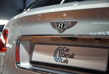 авто Bentley Bentayga после мойки и чистки ЛКП