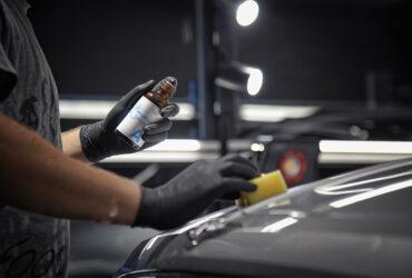 нанесение защитного состава на кузов Bentley Bentayga