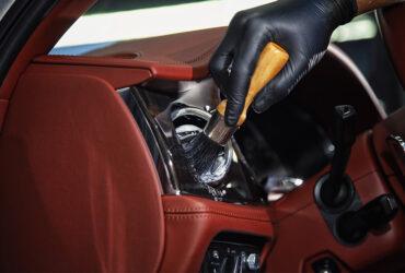 чистка салона вручную Bentley Bentayga