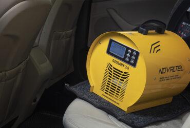 озонатор в салоне авто