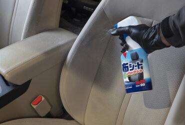 чистка сидений средством Fabric Seat &Mat Cleaner