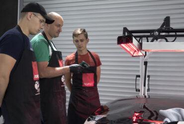 измерение толщины лака на автомобильном кузове
